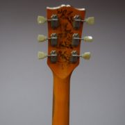 Gold Top Back Headstock