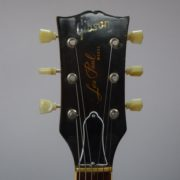 Les Paul Gold Top Front Headstock